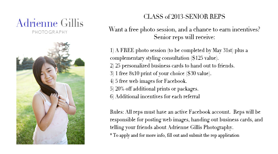 Senior rep application adrienne gillis photography midland mi senior rep application reheart Image collections